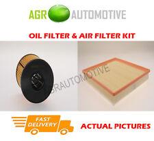 DIESEL SERVICE KIT OIL AIR FILTER FOR VAUXHALL VIVARO 2.5 135 BHP 2003-06