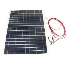 30W 12V Battery Charger Kit-Diy Photovoltaic Foldable Waterproof Solar Panel For
