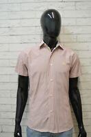 BURBERRY Camicia Uomo Taglia L Slim Maglia Camicetta Shirt Men's Casual Hemd