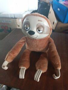 Talking Sloth Toy Plush Kid's Gift Interactive Club Petz Mr Slooou Soft Toy