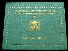 Vatikan, 2 Euro, 2010, Jahr der Priester 2009-2010, K-N-Me.! orig.! St.! Top.!