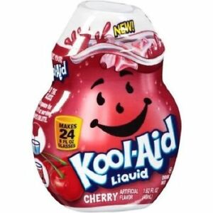 Kool-Aid Cherry Flavor Enhancer Liquid Drink Mix