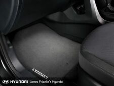 Genuine Hyundai DM Santa Fe Tailored Carpet Floor Mat Set 4 Black AL2002W002RYN