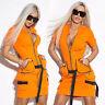 By Alina Damenkleid Partykleid Longshirt Minikleid Tunika Kleid 34 - 38 #C881