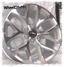 22 inch silver Snowflake 2018 Chevy Tahoe LTZ Silverado OE replica wheels 6x5.5