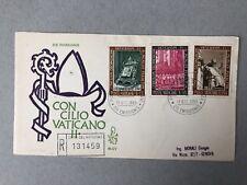 Vatican FDC 1966 - Concilio Vatican II 1966 - Vatican stamps