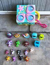 Littlest Pet Shop Lot of 19 Teeniest Tiniest Pets Pop Up Playset Accessories LPS