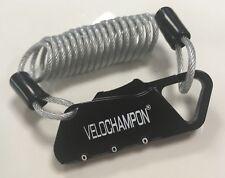 VeloChampion Café Lock - Mini Portable Anti-theft Resettable 3 Digit Bike Bicycl