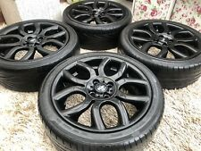 """Genuine 17"""" BMW Mini Cooper Flame Spoke Refurbished Alloy wheels & tyres"""
