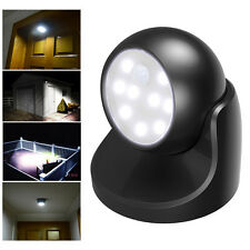 Motion Activated Cordless Sensor LED Light Indoor Outdoor Garden Wall Patio Lamp