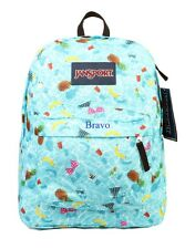 JANSPORT CASUL CLASSIC BACKPACK Limit Edition MULTI POOL PARTY  ORIGINAL