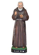 Padre Pio resin statue cm. 50