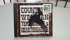 COUNTRY & WESTERN  HEARTBREAKERS THE GOLD COLLECTION CD NELSON ROGERS ALABAMA