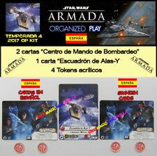 STAR WARS ARMADA 2017 T4 ESPAGNOL OP KIT - Escadron ailes - et + 4 Jetons + 2 CM