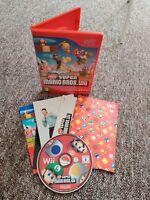 New Super Mario Bros - Nintendo Wii/Wii U Game - MANUAL - UK Seller - Free P&P!