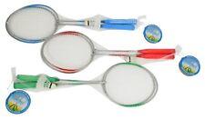 3 x Badminton-Set Badmintonschläger Racket Schläger Ball Federball-Spiel