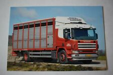 Livestock Truck Photo KNOL Scania 380  BN-VG-19