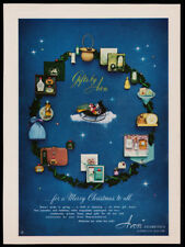 Avon gift sets print ad 1951 wreath of different sets
