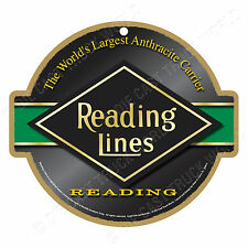 Reading Lines Logo Wood Plaque-Sign / Man Cave / Train & Kids Room