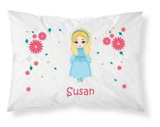Personalised Children Princess Pillowcase Printed Gift Custom Print New 105