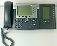 Cisco SPA-509G Office Phone with CP-7915 Expansion  Module