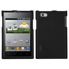 For LG VS950 (Optimus Vu) Black Phone Protector Case Cover