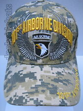 101ST AIRBORNE DIVISION Cap/Hat Camo Military*Free Shipping*