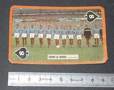 FOOTBALL CARTE PHOTO EQUIPE DE FRANCE BLEUS 1959-1960