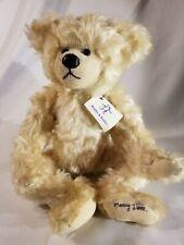 Bentley & Buddies Retired Teddy Bear Bearnard Nancy Dane signed bear