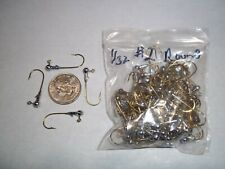 1/32oz #2 ROUND HEAD LEAD HEAD JIG EAGLE CLAW - GOLD 100ct