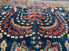 11X14Ft Antique Handmade Persian Sarouk Fereghan ca 1890