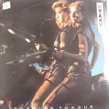 vinyl lp record TAXXI foreign tongue , 1983