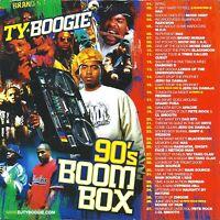 DJ Ty Boogie 90s BoomBox RARE 1990s Hip Hop Compilation Mixtape Rap Mix CD