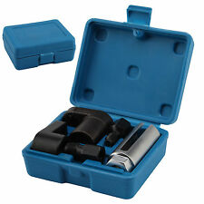 New 5pc Oxygen Lambda Sensor Socket Tool Thread Car Garage Repair Kit Blue Case
