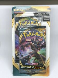 Pokemon Sword and Shield Darkness Ablaze - 2 x Booster Pack - New & Sealed