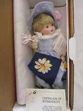 Marie Osmond Miracle Children Collector porcelain doll Faith Nib Coa kite