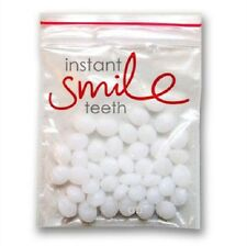 Dr. Bailey's Instant Smile Bag of Thermal Fitting Beads Teeth Cosmetic Novelty