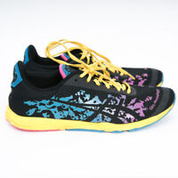 ASICS Gel Noosafast Running Shoes Sneakers T357N Womens Size 7.5 Black Yellow