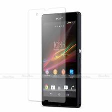 TOP QUALITY CLEAR SCREEN PROTECTOR DISPLAY FILM GUARD FOR SONY XPERIA Z L36h