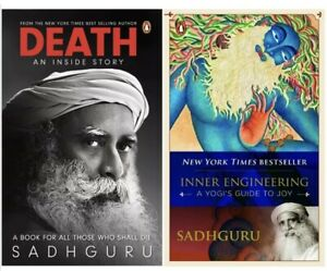 NEW Inner Engineering & Death; An Inside Story By Sadhguru 2 Paperback Books Set