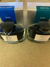 Two Bottles of Pilot Iroshizuku Fountain Pen Ink - New! - Fantastic Colors