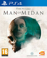The Dark Pictures Anthology Man Of Medan PS4 Playstation 4 NAMCO
