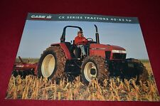 Case International CX100 CX90 CX80 CX70 CX60 Tractor Dealers Brochure AMIL7