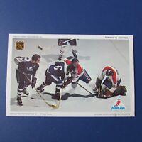 KEN DRYDEN  MONTREAL CANADIENS TORONTO MAPLE LEAFS 1971-72 Pro Star postcard RC