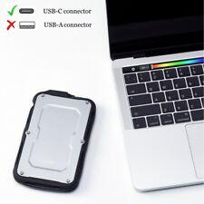 APRIME 500GB USB-C Rugged Shockproof External SSD for MacBook Pro/iMac Pro 2019