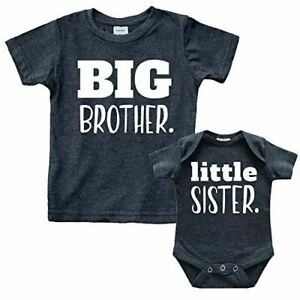 Olive Loves Apple Bow Big Sister Again Sibling Announcement Shirts for Baby and Toddler Girls Sibling Outfits