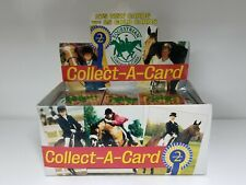 Equestrian 2nd Edition Trading Card Box 48 packs Horses and Riders Packs
