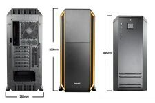 be quiet! SILENZIOSO BASE 800 Arancione Full Tower Gaming Case - USB 3.0