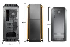 Be Quiet! Silenzioso Base 800 Full Tower Gaming Case - Arancione USB 3.0