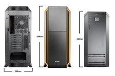 be quiet! Silent Base 800 Naranja Carcasa Torre completa JUEGOS - USB 3.0
